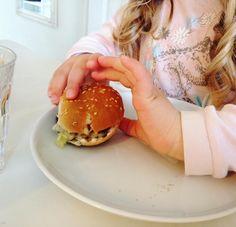 The cutest homemade mini burgers