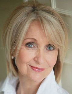 Think modern and stylish bob hairstyle for older women is a dream? In our gallery you will find the images of 25 Bob Hairstyles for Older Ladies. Hairstyles For Medium Length Hair Easy, Short Hairstyles Over 50, Blonde Bob Hairstyles, 2015 Hairstyles, Short Hairstyles For Women, Trendy Haircuts, Short Thin Hair, Medium Short Hair, Short Hair Styles Easy