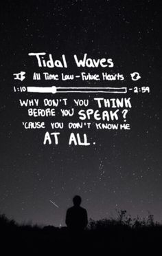 Tidal waves - all time low