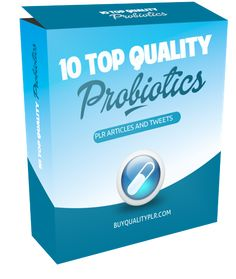 10 Top Quality Probiotics PLR Articles and Tweets - http://www.buyqualityplr.com/plr-store/10-top-quality-probiotics-plr-articles-tweets/.  10 Top Quality Probiotics PLR Articles and Tweets #Probiotics #PLRArticles #PLRContent #ProbioticsPLR #PLRArticlePack In this PLR Content Pack You'll get 10 Top Probiotics Articles and Tweets with Private Label Rights to help you dominate the Probiotics market which is a highly profitable and i....