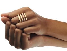 Angela Hübel rings Source by Minimal Jewelry, Modern Jewelry, Jewelry Rings, Silver Jewelry, Fine Jewelry, Jewellery, Silver Bracelets, Bijoux Design, Schmuck Design