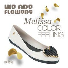 <3 <3 <3 Melissa Color Feeling! #WeAreFlowers