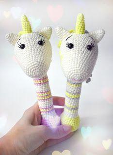 Amigurumi Unicorn Rattle-Free Pattern - Amigurumi Free Patterns