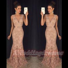 2016 Hot Sales Deep V-neck Prom Dresses,Lace Prom Dresses,Mermaid Evening Dresses,Party Gowns http://21weddingdresses.storenvy.com/products/16071711-2016-hot-sales-deep-v-neck-prom-dresses-lace-prom-dresses-mermaid-evening-dr