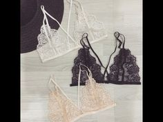 como hacer un top de encaje | how to make a lace bralette