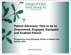 a 40+ page ebook on patient advocacy in pdf format