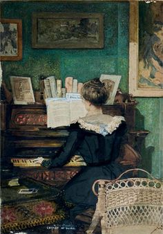 Corner of the Parlor by Hugh Henry Breckenridge, 1911