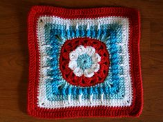 "Dilly Dahlia 12"" block ~ free pattern"