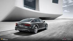 Segurança, eficiência e design atraente. O Audi RS7 Sportback é a soberania automobilística.  #Audi #AudiLovers #Love #AudiAutomóvel #AudiCenterBH ##RS7 #AudiRS7