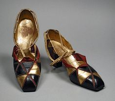 TheHistorialist: 1924 | ANDRE PERUGIA FOR PAUL POIRET | THE ARLEQUINADE SHOE COMPANION