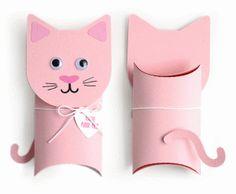 cat pillow box valentine