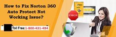 Call 1-800-431-454 to know how to fix Norton 360 auto protect not working issue find here the right process described by the team of certified techies. The whole troubleshooting process is explained in the right manner while considering the safety of computer device and privacy of the users. The troubleshooting tips are fixed along with online support to solve #Norton auto protect not working problem on #windows or #Mac computers.