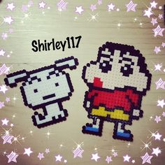 Crayon Shin-Chan perler beads by shirley117