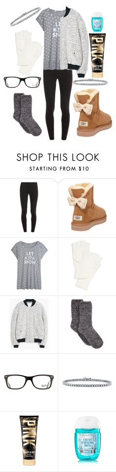 """""""First snow! Winter"""" by cassidy-vn ❤ liked on Polyvore featuring Splendid, UGG Australia, Echo, MANGO, Charter Club, Ray-Ban and BERRICLE"""