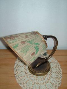 Vintage Wandlampen - Plissee Tischlampe aus den Fiffties - Kult - - ein…