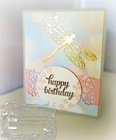 Dragonfly Dreans, Falling In Love Designer Series Paper, So In Love Bundle, wedding birthday bride