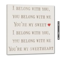 your my sweetheart ho hey sign from GeeZees! | CHECK OUT MORE IDEAS AT WEDDINGPINS.NET | #weddings #weddinggear #weddingshopping #shopping