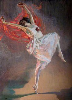 Anna Pavlova (1881–1931) by John Lavery