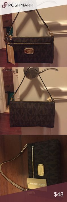 Michael Kors purse New with tags Michael Kors brown and tan purse KORS Michael Kors Bags Satchels