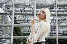 Alina in the garden