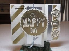 Silver & Gold Glitz - Stampin' Up! products