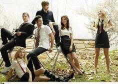 This show is my guilty pleasure. Plus, he may start out as an ass but Chuck is pretty dreamy. Gossip Girl.