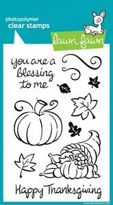Harvest Season Clear Stamp Set by Lawn Fawn
