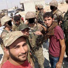 Öso ve Türk askerleri Turkısh army in syria