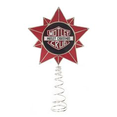 CHRISTMAS TREE TOPPER STAR | Accessories | Motley Crue