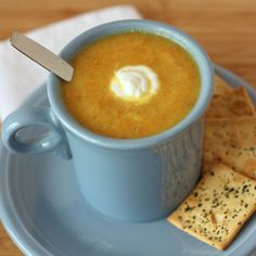 """Vegetable """"Flu Buster"""" soup - delicious and packed with flavor AND all kinds of ingredients to keep everyone healthy!"""