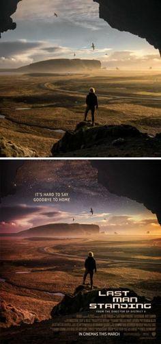 Este joven convierte fotos de Internet en impresionantes afiches de películas - Diviértete - Espacio360