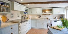 Cottage Blue Classic English kitchen
