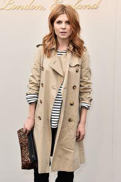 Burberry Womenswear February 2016 Show - Clemence Poesy