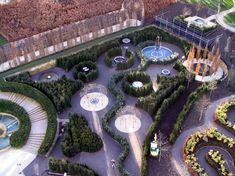 Alnwick Serpent Garden designed by Peter Wirtz
