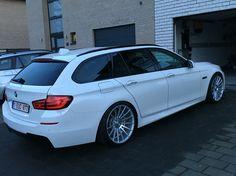 BMW F11 Vossen Wheels Vossen vfs2 H&R