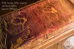 Oscha Tsurusora Golden Russet Wrap  (hemp) Image
