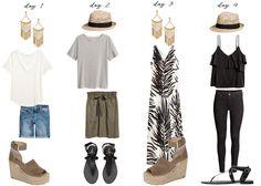 capsule summer wardrobe