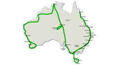 This is best travel itinerary Australia has to offer. The cheapest route for Australia when backpacking to visit all the top destinations and places. Roadtrip Australia, Australia Travel Guide, Visit Australia, Melbourne, Australian Holidays, Australian Road Trip, Visit Sydney, Travel List, Vacation Places