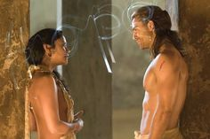 Great couples on Tv Shows: Gannicus & Melitta. - Gods of the Arena · Forbidden love ... Very romantic