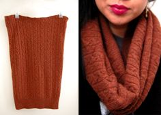 sweater cowl.