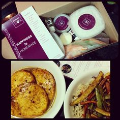 """""""A Super Sunday it is, as we cook some yummy BBQ Paneer Steak from @burgundybox by chef Ajay Chopra ! The pre measured meal kit comes with all the…"""""""
