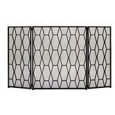 Found it at Wayfair - 3 Panel Fireplace Screen
