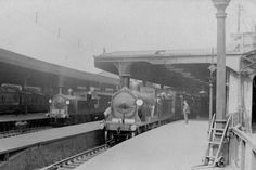 Waterloo station about 1905