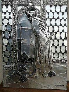 . Aluminum Foil Art, Metal Embossing, Metal Art, Pewter, Decoupage, Copper, Tin Metal, Aluminium Foil, Russian Art
