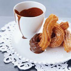 Warm Churros and Hot Chocolate | Food & Wine