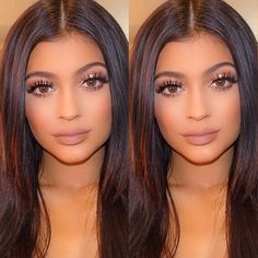 Kylie Jenner Make up <3 She is so pretty and Idc what people say it's her life anyway