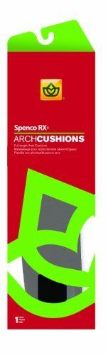 ARCH CUSHION M 12-13 Size: FULL by SPENCO MEDICAL CORP. $11.99. ARCH CUSHION M 12-13 Size: FULL