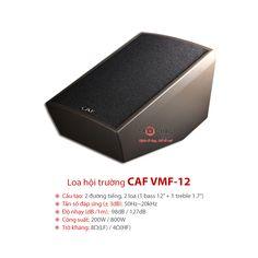 Bảo Châu Elec xin hân hạnh giới thiệu sản phẩm loa hội trường, chiếu phim chuyên nghiệp CAF VMF 12. Sản phẩm được nhập khẩu chính hãng từ hãng CAF danh tiếng, cao cấp của Trung Quốc, bảo hành dài hạn và giá bán cạnh tranh nhất tại điện tử Bảo Châu.