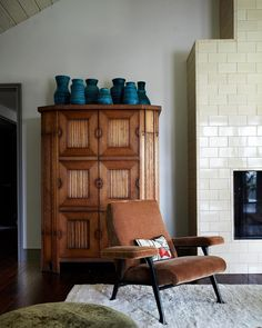 Vintage Chairs, Cabinet Design, Decoration, Great Rooms, Home Projects, Interior Inspiration, Minnesota, Tall Cabinet Storage, Home Goods