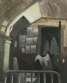 CHARLES BURCHFIELD Salem Bedroom Studio (1917)